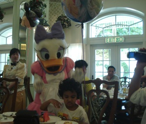 The day Re ignored Daisy Duck