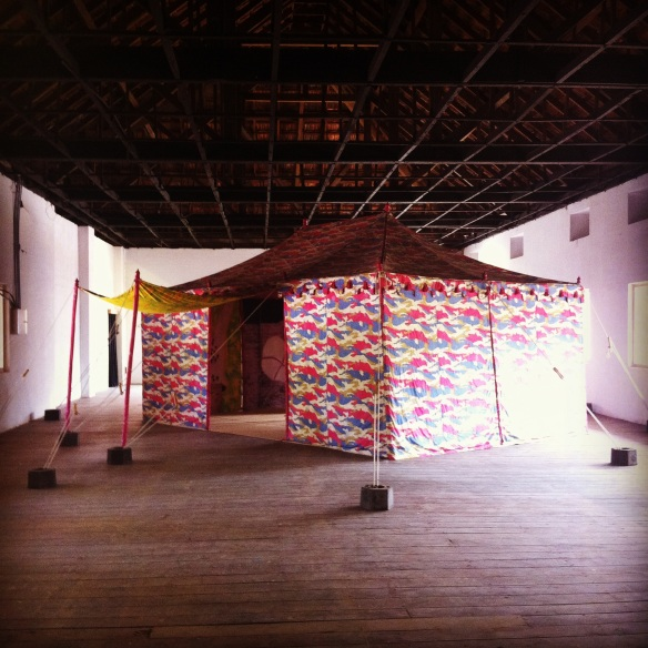 Pepper Tent by Francesco Clemente
