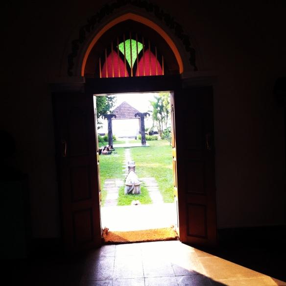 Purity on Vembanad lake